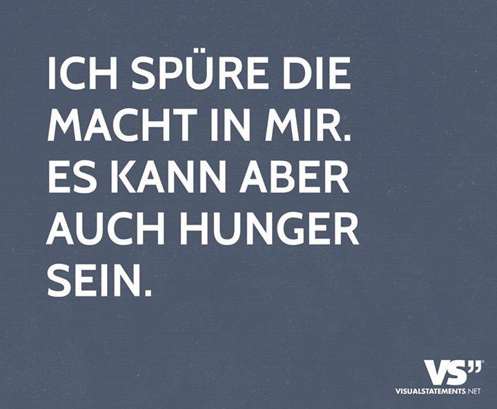 Hunger kann manchmal schon sehr verwirrend sein. #quotes #zitate #lol