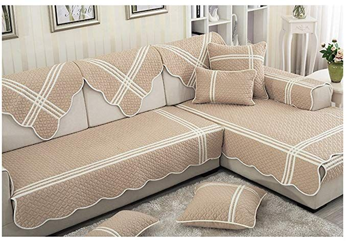 Zebrasmile 1 Piece Various Sizes 100 Cotton Sofa Towel Cover Decrotive Sofa Cover Antiskid Sofa Slipcover For So Slipcovered Sofa Cushions On Sofa Sofa Cotton