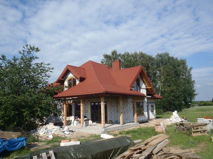 Budowa domu Rubin. #budowa #strop #mgprojekt