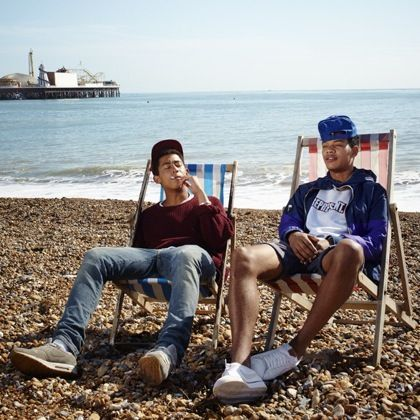 Jordan Stephens & Harley Alexander-Sule of Rizzle Kicks. (From UK, but they'll be big in the US soon)