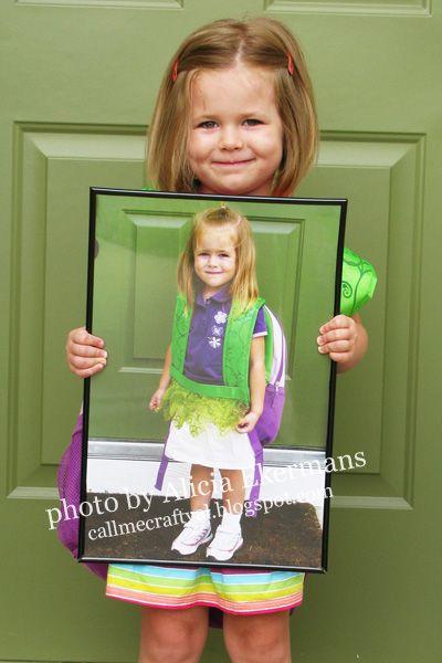 Jedes Jahr zum Schulanfang ein Foto machen