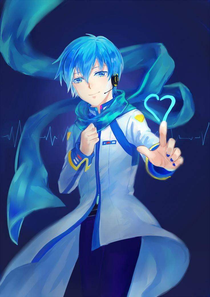 Kaito Shion | Kaito, Vocaloid kaito, AnimeVocaloid Kaito