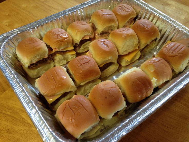 Mini White Castle recipe sliders with Big Mac sauce
