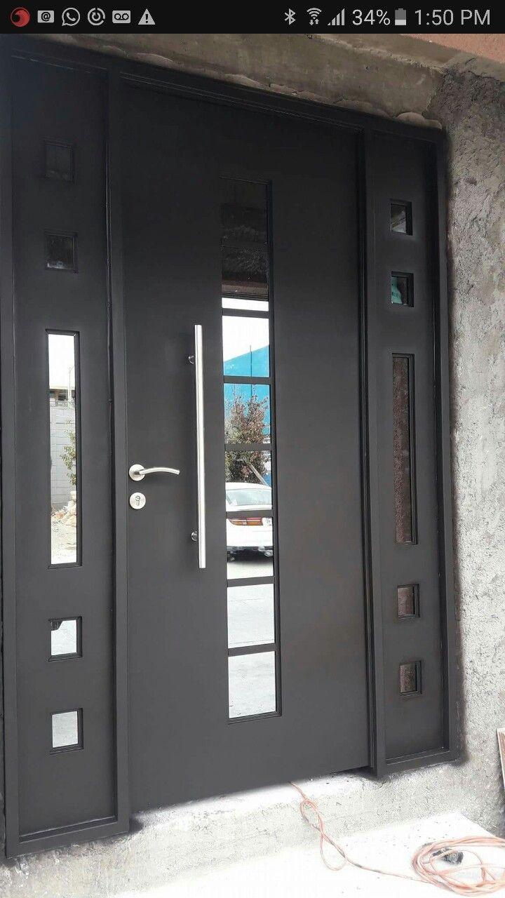 Puertas de entrada de herreria