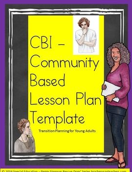 """Updated September 2016 to add a """"bonus"""" editable (just copy and paste goals into your transition plans -except for restricted graphics on cover page) powerpoint of how to write legally defensible CBI transition goals in each of the four  transition domains (examples are given)."""
