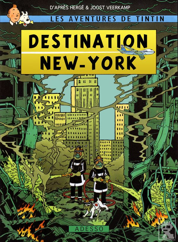 Resultado de imagen de tintin 11-S nueva york