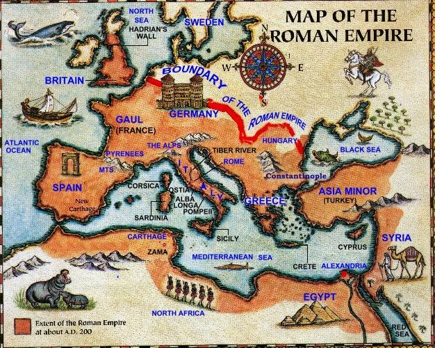 map of the roman empire maps of the ancient world pinterest roman empire roman and empire. Black Bedroom Furniture Sets. Home Design Ideas