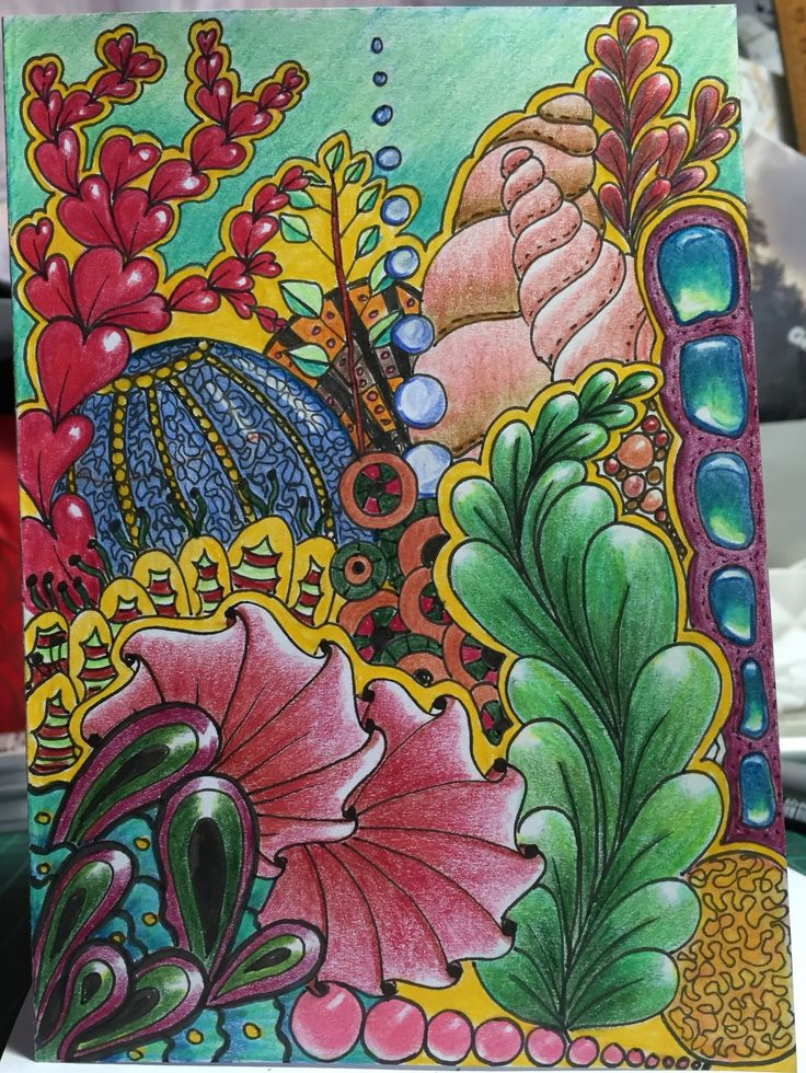 Global Doodle Gems. Lynne McGee artist