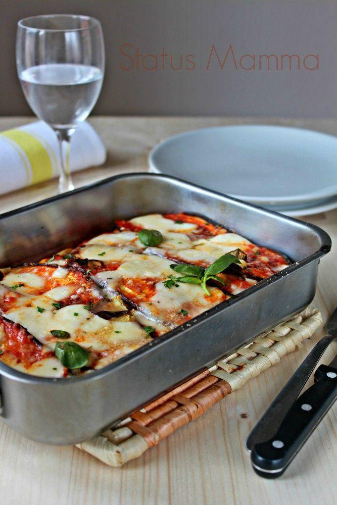 Lasagne alle melanzane filante | Status mamma