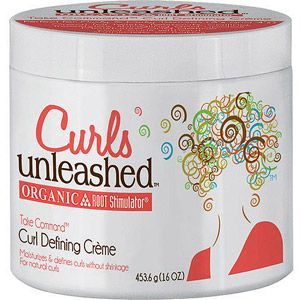 Curls Unleashed Organic Root Stimulator Curl Defining Creme, 16 oz