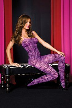 CLICK IMAGE TWICE FOR PRICING AND INFO :) #women #panties #lingerie #crotchlesspanties #lace #sexylingerie #intimates #undergarment #honeymoon #bikini #satin #hipster see more crotchless panties at http://zpanties.com/category/panties-categories/crotchless-panties/  - Crotchless BodyStocking (Purple/Black) Adult Size 2-14 One Size Fits Most « Z Panties