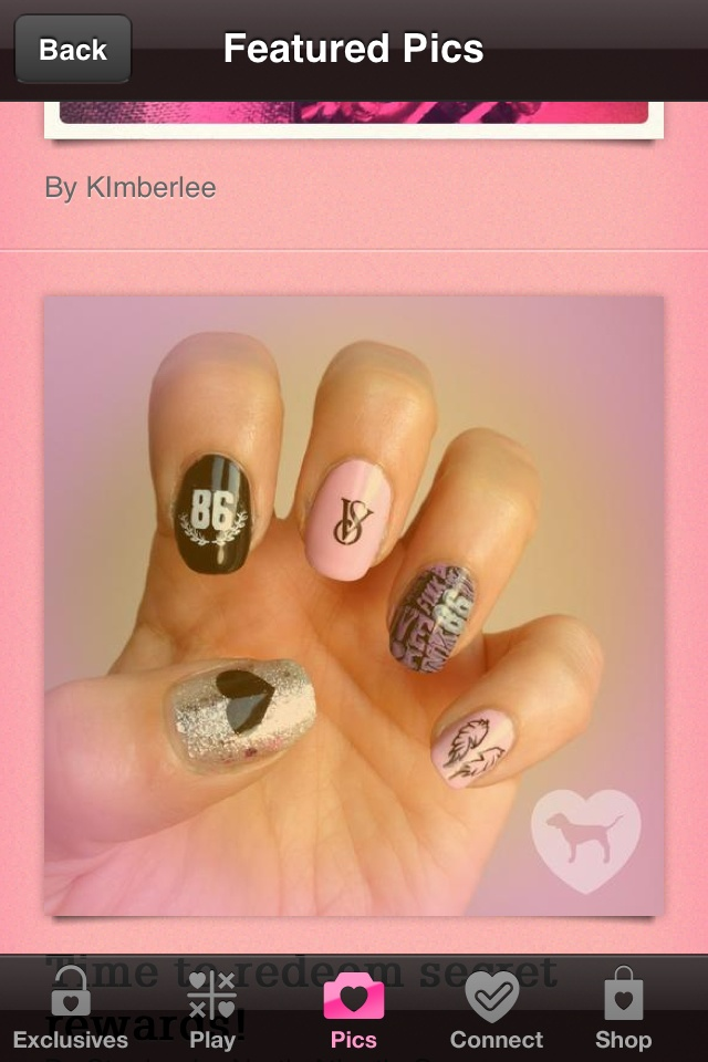 Victoria's secret nails