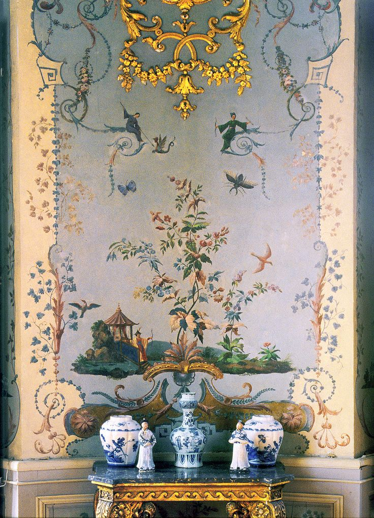 17 best images about chinoiserie chic on pinterest for Chinoiserie wall mural