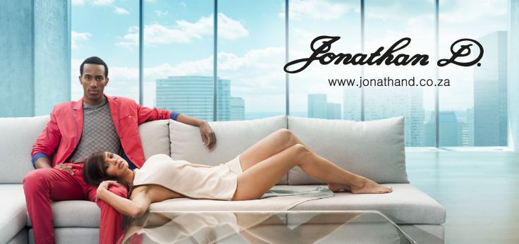Jonathan D... tailored for the international man... he redefines sophisticated style.