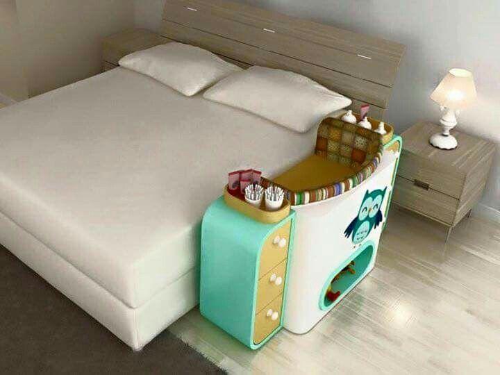 Co sleeping bed