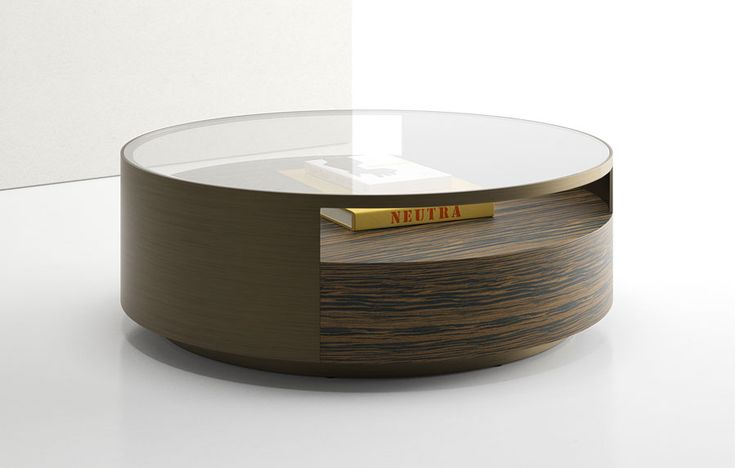 Museum Round Coffee Table - Élan by Decca