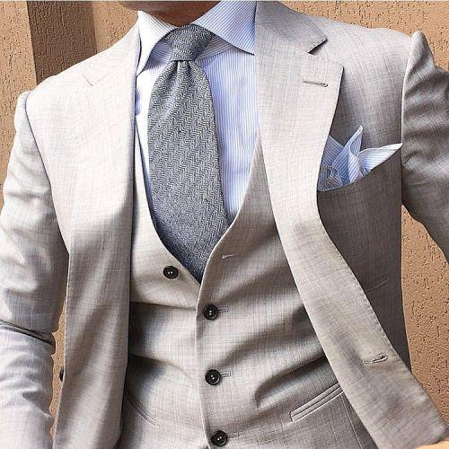 Light Grey & @otaa.australia Tie by @danielre #Instagram