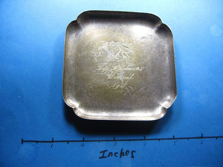 awesome 2 OZ CARTIER MERRILL LYNCH 1981 PRODUCERS WEEKEND SUPER RARE SILVER TRAY COOL   Check more at http://harmonisproduction.com/2-oz-cartier-merrill-lynch-1981-producers-weekend-super-rare-silver-tray-cool/