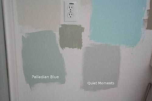 Benjamin Moore Quiet Moments And Beach Glass Google