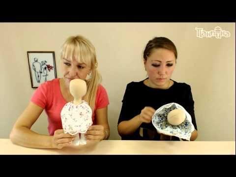 """Часть 2. Школа """"Панпина"""". Создание одежды для куклы """"Малышка"""" - YouTube"""
