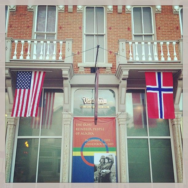 With 24,000 artifacts and 12 historic buildings is located in Decorah, Iowa. This national treasure showcases the most comprehensive collection of Norwegian-American artifacts in the world... We used to visit Decorah often because our aunt and uncle lived there (my mother's brother on the Peterson side of the family).  jj