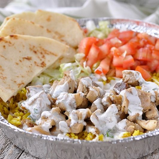 Halal Cart Style Chicken and Rice