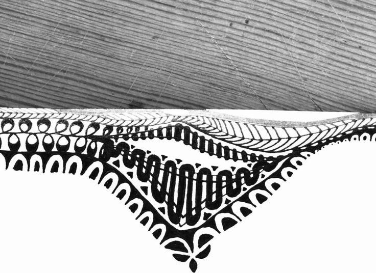 #Mandala #Zentangle #Black and White #B&W #Impulse Earth #Impulseearth #Meryem Simsek #Miss Miri #Casa Botha