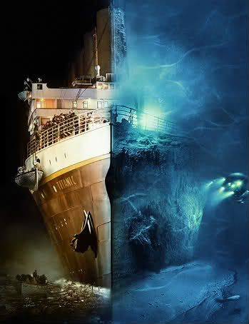 Real Pictures of the Titanic Underwater | Titanic-Titanic.com • View topic - Comparison Between wreckage and real Ship