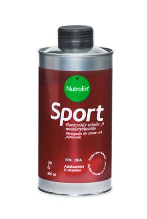 Nutrolin SPORT protects the working dog against oxidative stress and inflammation from strenuous training.
