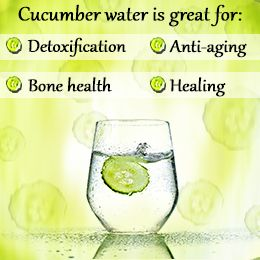 Cucumber in my water?!?!  Absolutely!!