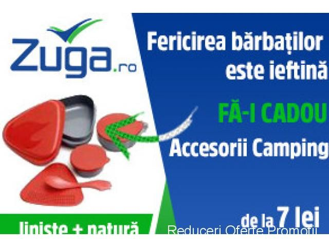 Fericirea Barbatilor este Ieftina - Accesorii Camping. Fa-i Cadou | Reduceri Oferte si Promotii in Romania | Accesorii Camping