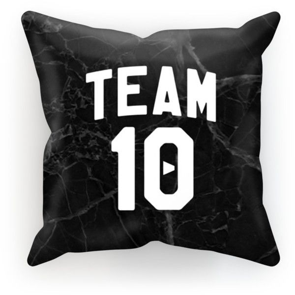 Official Team 10 Pillow ($20) ❤ liked on Polyvore featuring home, home decor and throw pillows