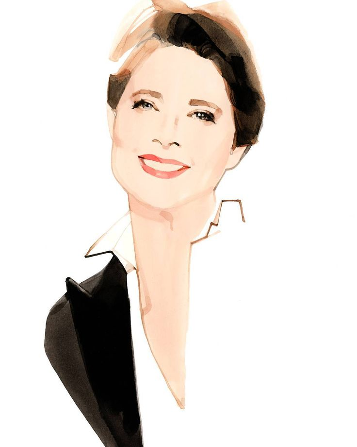 """""""#IsabellaRossellini is back at it with #Lancome —she is the new Lancome Muse. © Marc-Antoine Coulon for Lancôme"""""""
