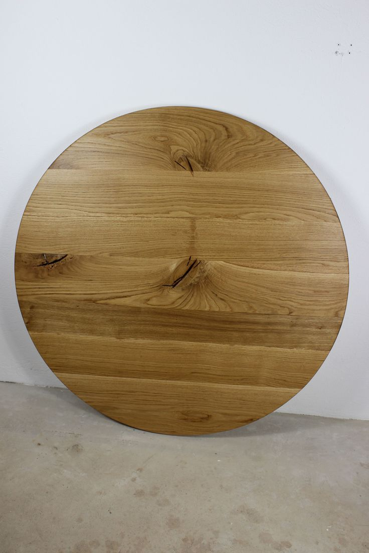 Tischplatte massivholz rund  Die besten 25+ Tischplatte rund Ideen auf Pinterest | Runde ...