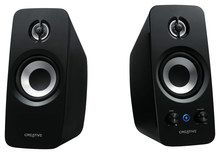 Creative - Inspire T15 2.0 Bluetooth Speaker System (2-Piece) - Black