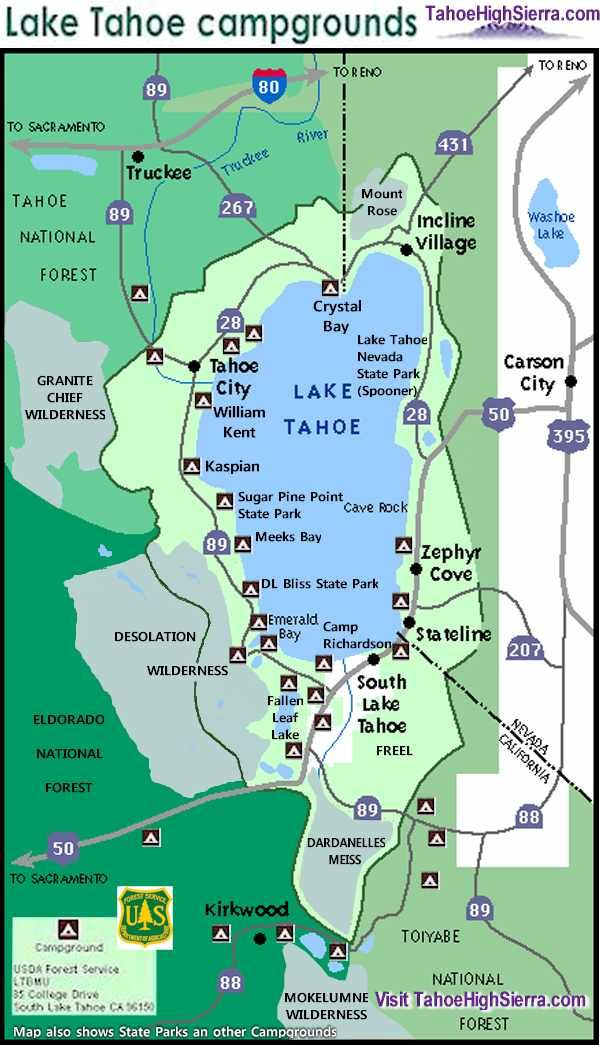 Best 20 lake tahoe map ideas on pinterest for South lake tahoe cabins near casinos