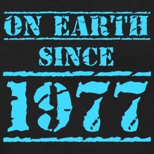 en la tierra desde 1977 40 cumpleaños 40 cumpleaños - Chaqueta con capucha premium mujer