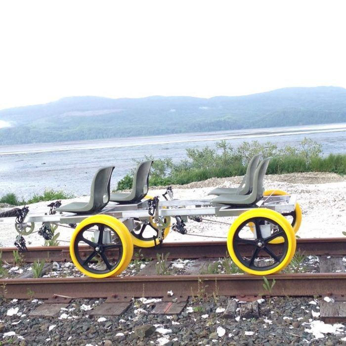 Experience Oregon's scenery like never before on this awesome self-propelled railroad excursion.Oregon Coast Railridersoffers the unique experience of riding a pedal-powered railcar bike along a gorgeous stretch of inactive train tracks through the beautiful and varied landscapes of Tillamook County.