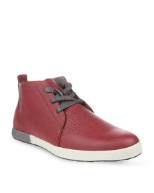 Paul of London Lace-up Shoes Red