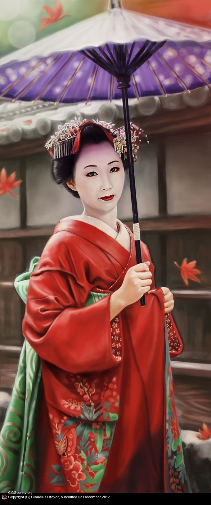 ~Maiko is an apprentice Geiko (not exactly same as geisha) in Kyoto, Western Japan. Their jobs consist of performing songs, dances, and playing the shamisen or Koto (Traditional Japanese musical instruments) for visitors during feasts | House of Beccaria