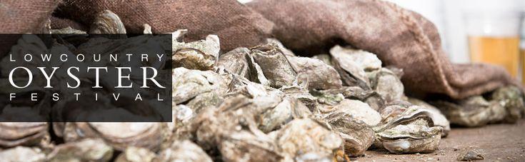 What does 80,000 pounds of oysters look like?  Lowcountry Oyster Festival!