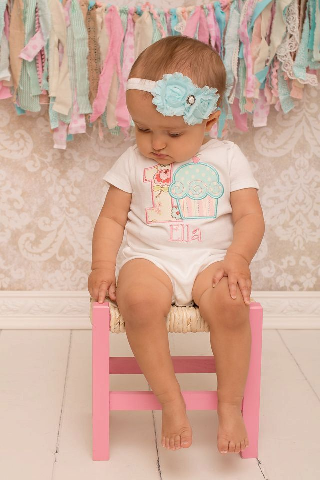 Girls First Birthday Outfit  First Birthday by sweettulipsboutique, $22.50
