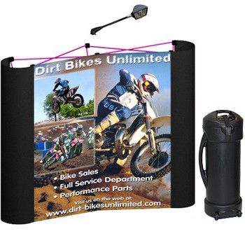 Deluxe 6' x 5' Coyote Table Top Pop Up Display Kit