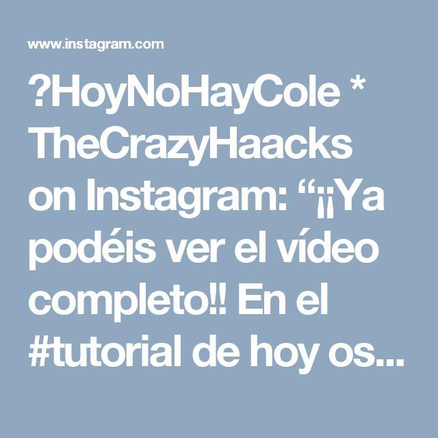 """👌HoyNoHayCole * TheCrazyHaacks on Instagram: """"¡¡Ya podéis ver el vídeo completo!! En el #tutorial de hoy os enseño cómo hacer esta mancha de esmalte falso 💅🏼para gastar bromas en casa…"""""""