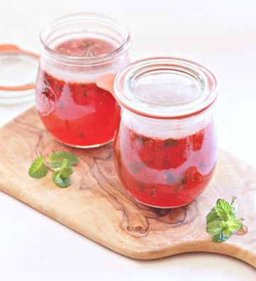 Strawberry Mint Jelly