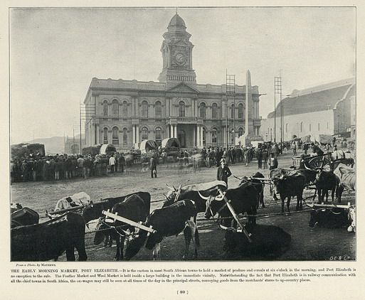 The Early Morning Market, Port Elizabeth | South Africa by The National Archives UK