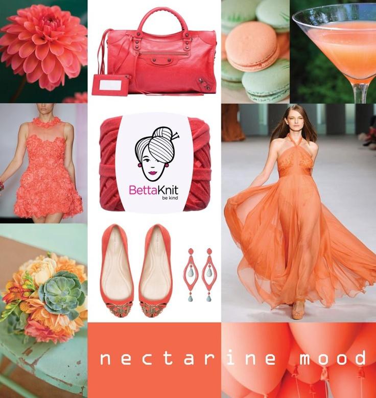 nectarine moodboard