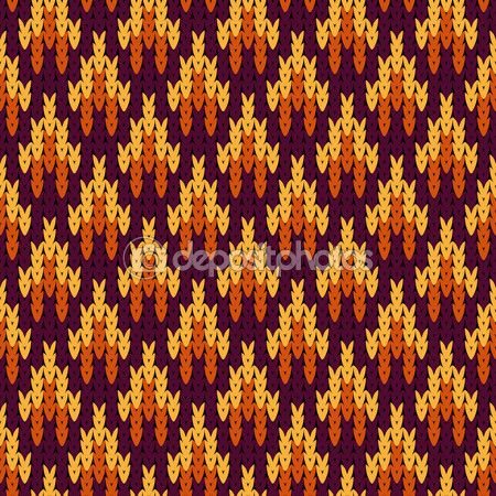 Abstract pattern with seamless knitted texture — Stok Vektör © KateKu #98301554