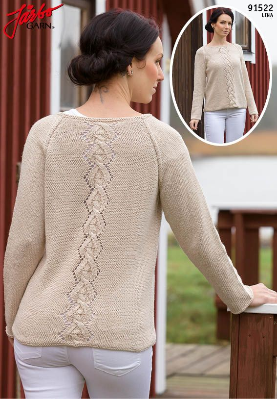 Wonderful raglan sweater.