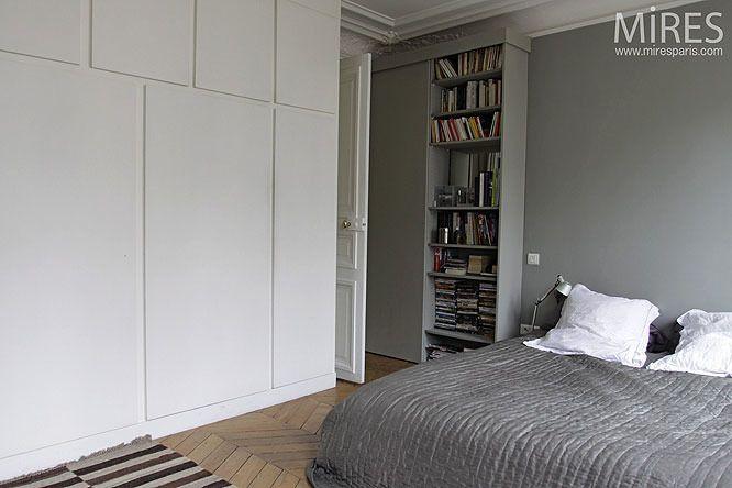 Virginie : Je cherche à réaménager ma chambre avec un grand placard - Côté Maison Projets